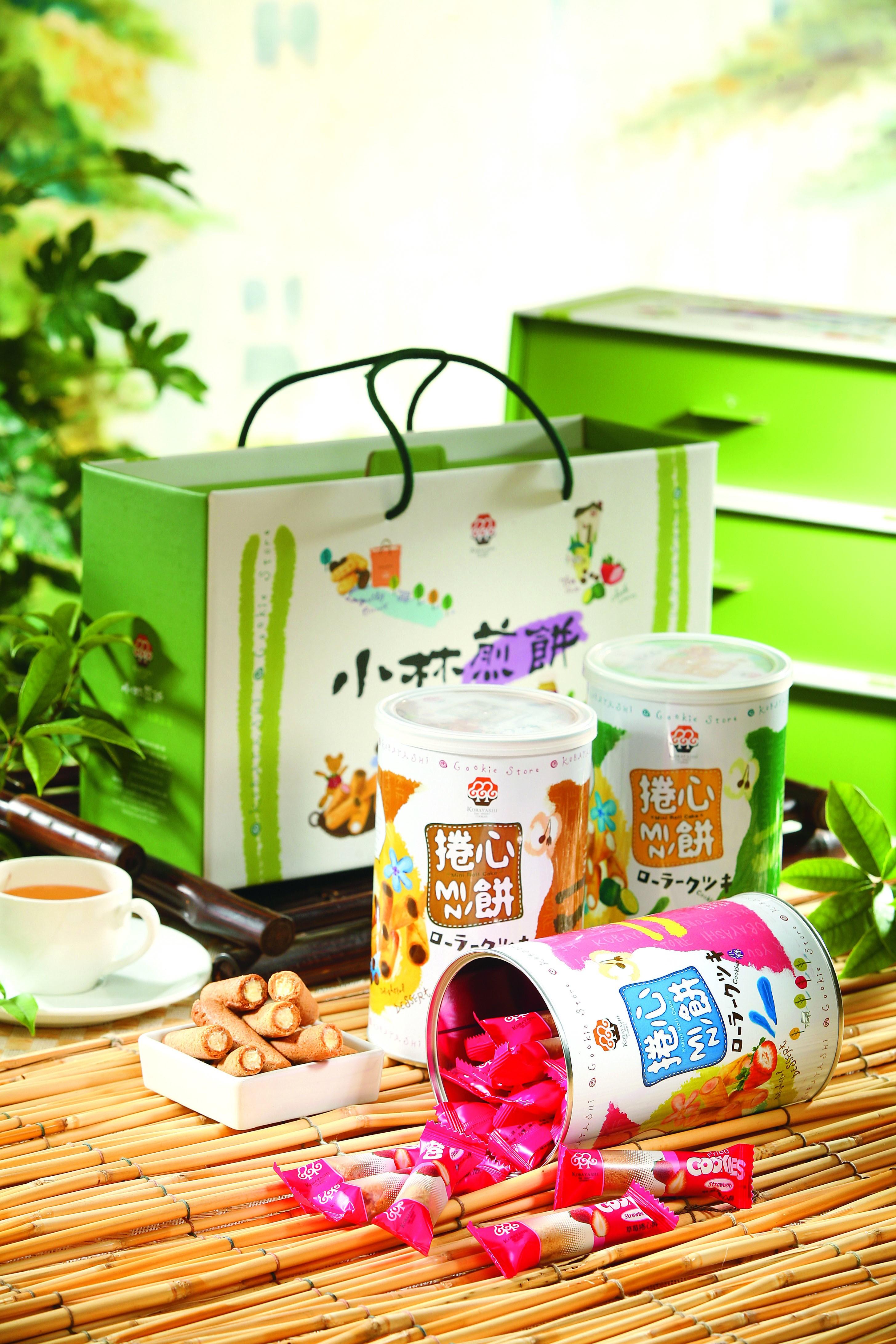 小林家族捲心組合(檸檬/草莓/咖啡)
